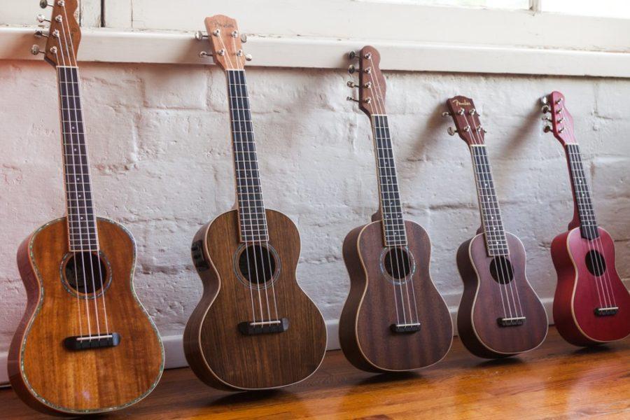 Fender annuncia la nuova serie di ukulele California Coast